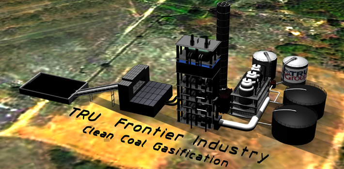 clean coal gasifier india indonesia china USA Europe urea from coal gasifification tru group