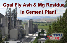 Coal Fly Ash for Cement Plant