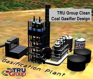 tru group coal gasification gas chemicals Urea USA India