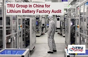 China Lithium-Ion Battery Factory by TRU Group