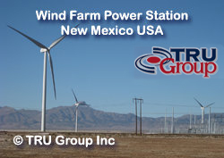 TRU Group wind farm energy storage Engineers consultant USA Europe