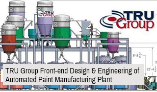 tru group FEED front-end engineering front end design of manufacturing plant automated USA Europe