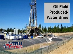 Oil Gas Produced Water Oilfield Brine Treatment TRU Group USA Europe