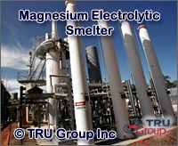 TRU Group electrolytic magnesium-smelter