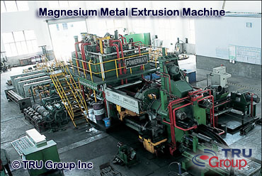 metal extrusion machine