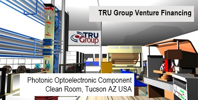 TRU Photonics Packaging Clean Room